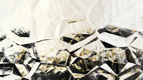 Black and Beige Abstract Crystal Background Image © stockgraphicdesigns