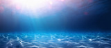 Blue Ocean Water Background