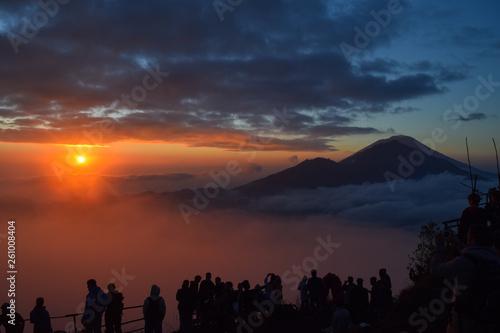 Mount Batur, Bali, Sunrise