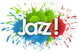 jazz word in splash's background