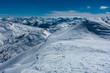 canvas print picture - Skitour Gilfert Bergpanorama Schneelandschaft