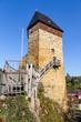canvas print picture - Burg Frauenstein in Wiesbaden-Frauenstein. 11.04.2019.