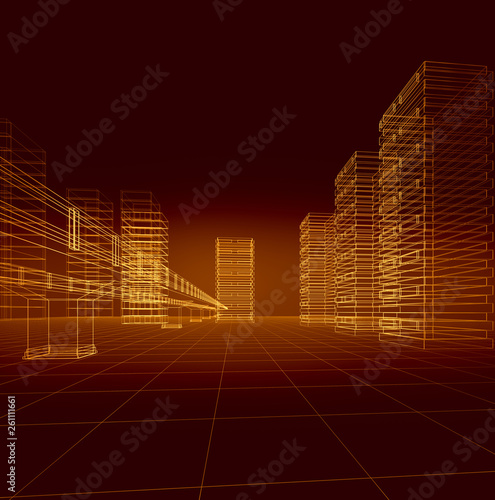 3D City - 261111661
