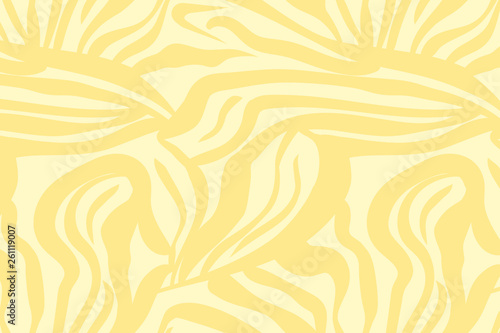 Vector illustration of zebra pattern. Simple abstract background