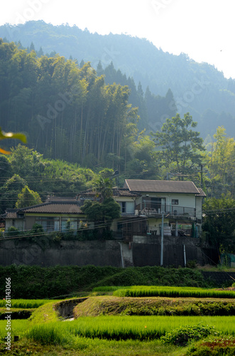 canvas print picture Alte haus in Japan