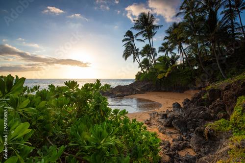 Maui Sunset beach cove