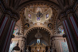 Inside the Sanctuary in Tlalpujahua Michoacan Mexico