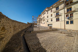 Streets of the medieval village of Morella