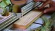 taglio legno con sega circolare