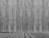 Estrade et arrière-plan bois noir