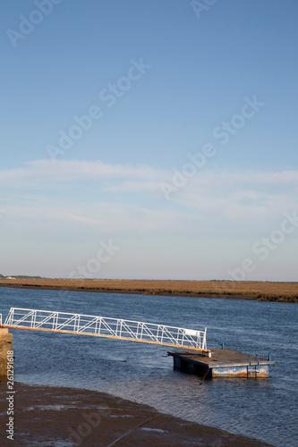 Pier at Santa Luzia, Tavira, Algarve © kevers