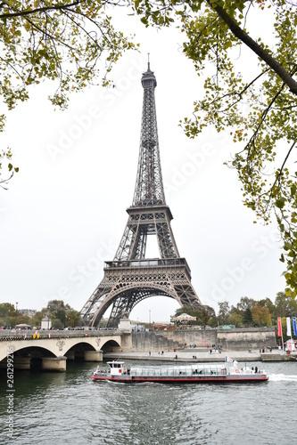 eiffel tower in paris - 261299216