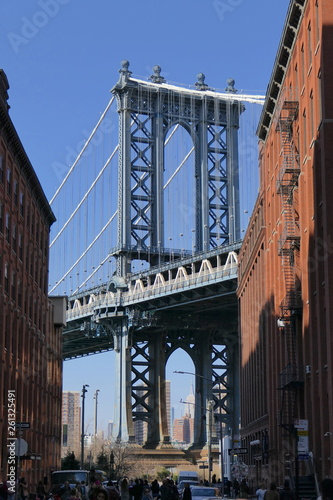 Fototapeten Brooklyn Bridge Brooklyn Bridge New York