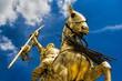 Statue of joan of Arc in Paris, Frankreich