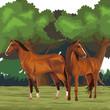 horse icon cartoon - 261386807
