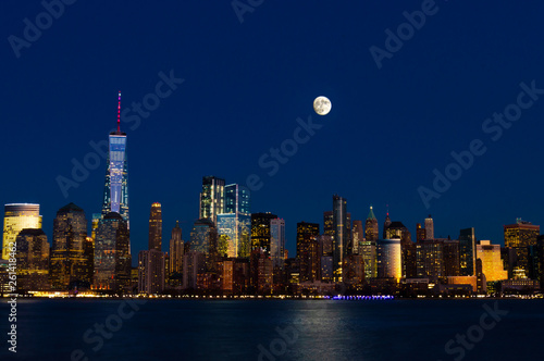 Moon Over NYC