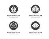 Lotus symbol illustration