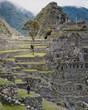 ruins of machu picchu in peru