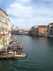 Channels are an important infrastructure in the life of Venice.