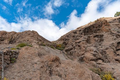 canvas print picture Wandern auf Gran Canaria
