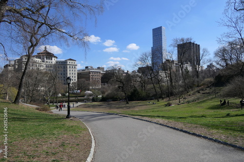canvas print picture Central Park New York