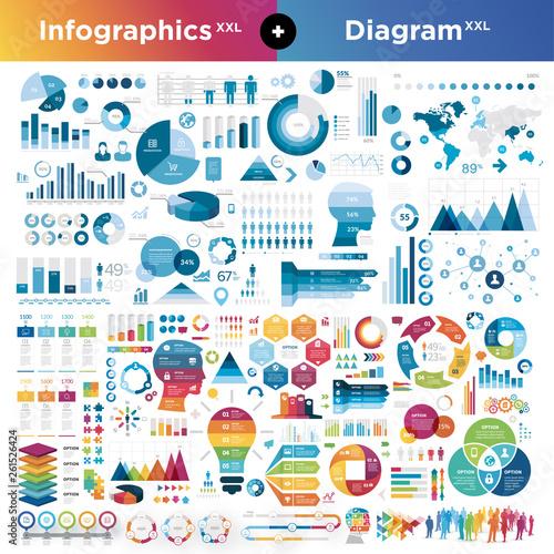 Set of infographics design elements © Julien Eichinger