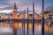 canvas print picture - D, Bayern, Bodensee, Lindau, Hafenweihnacht, Weihnachtsmarkt