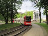 Trams on Ubierring 7
