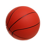 Basketball toy isolated on a white