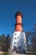 canvas print picture - Leuchtturm Rozewie Schutz Gebäude Turm