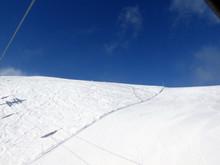 "Постер, картина, фотообои ""Skifahren in Saalbach Hinterglemm Leogang"""