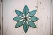 Leinwanddruck Bild - Blumensymbol