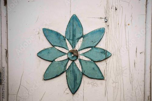 Leinwanddruck Bild Blumensymbol