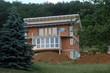 Leinwanddruck Bild - rohbau eines einfamilienhauses