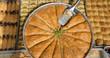 classic baklava with pistachios
