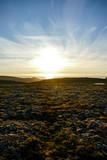 sunset on beach, in Norway Scandinavia North Europe