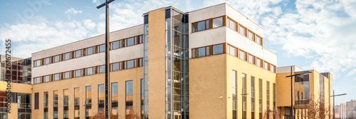 KRAKOW, POLAND - JANUARY 07, 2017: The Jagiellonian University. Modern campus buildings