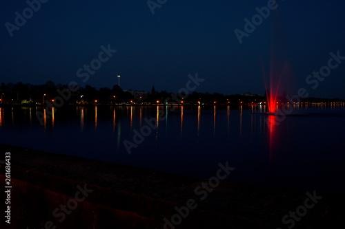 Lichterspiegel am Maschsee in Hannover  © Alessandro