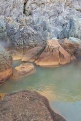 地鉈温泉 式根島
