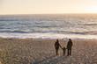 Quadro Happy family have a fun in pasific ocean