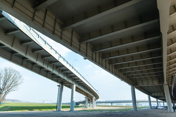 architecture and geometry of modern automobile bridges