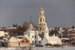 churches and houses in Suzdal in winter - 261738688