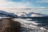 The coast of the Arctic Ocean, Russia