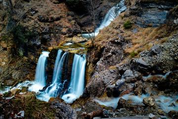 Kuhflucht Wasserfälle