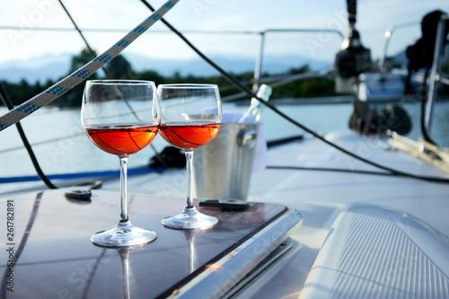 glasses of wine - 261782891