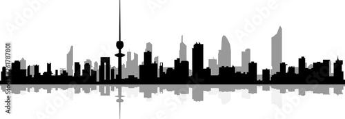 Kuwait City Skyline - 261787801