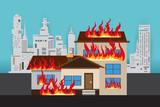 House On Fire, safety first