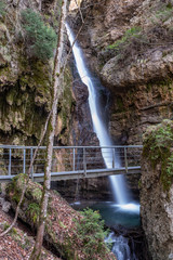 Hinanger Wasserfall bei Oberstdorf