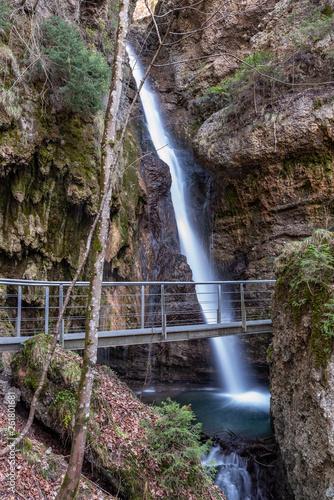 Hinanger Wasserfall bei Oberstdorf - 261801681