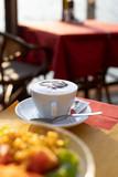 Cappuccino in Malcesine Italien